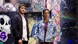 Ned Willis, Yashvi Rebecchi in Neighbours Episode 7941