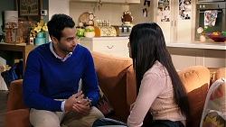 Pavan Nahal, Mishti Sharma in Neighbours Episode 7941