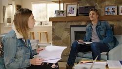 Piper Willis, Cassius Grady in Neighbours Episode 7942