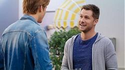 Cassius Grady, Mark Brennan in Neighbours Episode 7943