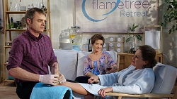 Gary Canning, Susan Kennedy, Nance Sluggett in Neighbours Episode 7943