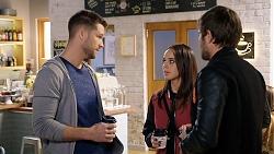 Mark Brennan, Bea Nilsson, Ned Willis in Neighbours Episode 7944