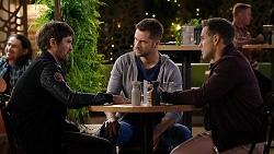 Ned Willis, Mark Brennan, Aaron Brennan in Neighbours Episode 7944