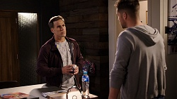 Aaron Brennan, Mark Brennan in Neighbours Episode 7944