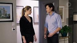 Chloe Brennan, Leo Tanaka in Neighbours Episode 7945