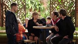 Mark Brennan, Terese Willis, Bea Nilsson, Ned Willis in Neighbours Episode 7945