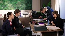 Bea Nilsson, Ned Willis, Mark Brennan, Terese Willis in Neighbours Episode 7945