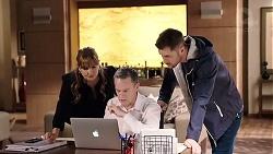 Terese Willis, Paul Robinson, Mark Brennan in Neighbours Episode 7945
