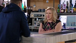 Mark Brennan, Sheila Canning in Neighbours Episode 7945