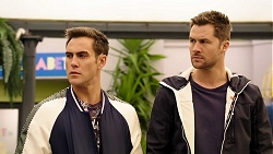 Aaron Brennan, Mark Brennan in Neighbours Episode 7947