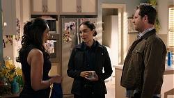 Dipi Rebecchi, Mishti Sharma, Shane Rebecchi in Neighbours Episode 7947