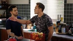 David Tanaka, Aaron Brennan in Neighbours Episode 7947
