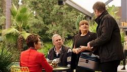 Susan Kennedy, Karl Kennedy, Terese Willis, Gary Canning in Neighbours Episode 7947