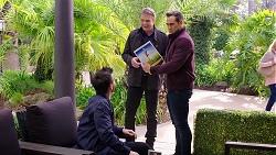 David Tanaka, Gary Canning, Aaron Brennan in Neighbours Episode 7949
