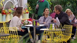Amy Williams, Elly Conway, Gary Canning in Neighbours Episode 7949