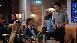 Chloe Brennan, Pierce Greyson, Leo Tanaka in Neighbours Episode 7949