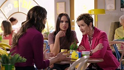 Elly Conway, Bea Nilsson, Susan Kennedy in Neighbours Episode 7950