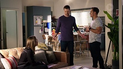 Piper Willis, Mark Brennan, Aaron Brennan in Neighbours Episode 7951