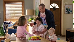 Sonya Mitchell, Nell Rebecchi, Toadie Rebecchi, Hugo Somers in Neighbours Episode 7952