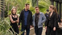 Piper Willis, Mark Brennan, Aaron Brennan, Chloe Brennan in Neighbours Episode 7952