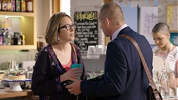 Sonya Mitchell, Toadie Rebecchi in Neighbours Episode 7952