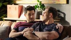 David Tanaka, Aaron Brennan in Neighbours Episode 7952
