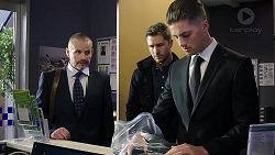 Toadie Rebecchi, Mark Brennan, Tyler Brennan in Neighbours Episode 7952