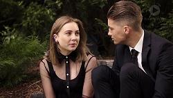 Piper Willis, Tyler Brennan in Neighbours Episode 7953