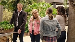 Gary Canning, Xanthe Canning, Amy Williams, Elly Conway in Neighbours Episode 7953