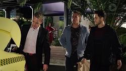 Paul Robinson, Aaron Brennan, David Tanaka in Neighbours Episode 7953