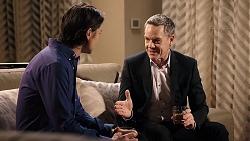 Leo Tanaka, Paul Robinson in Neighbours Episode 7954