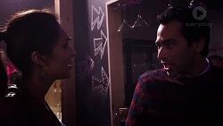 Dipi Rebecchi, Pavan Nahal in Neighbours Episode 7954