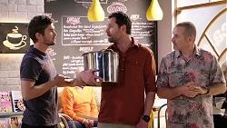 Ned Willis, Shane Rebecchi, Toadie Rebecchi in Neighbours Episode 7954