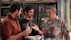 Shane Rebecchi, Ned Willis, Toadie Rebecchi in Neighbours Episode 7954