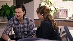 Leo Tanaka, Terese Willis in Neighbours Episode 7954