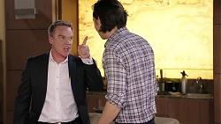 Paul Robinson, Leo Tanaka in Neighbours Episode 7954