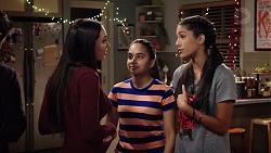 Mishti Sharma, Kirsha Rebecchi, Yashvi Rebecchi in Neighbours Episode 7955