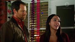 Shane Rebecchi, Mishti Sharma in Neighbours Episode 7955
