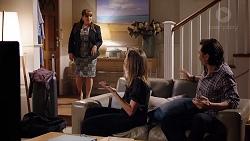 Terese Willis, Piper Willis, Leo Tanaka in Neighbours Episode 7955