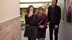 Piper Willis, Terese Willis, Leo Tanaka in Neighbours Episode 7956