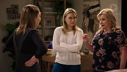 Piper Willis, Xanthe Canning, Sheila Canning in Neighbours Episode 7957