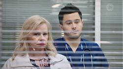 Sheila Canning, David Tanaka in Neighbours Episode 7957
