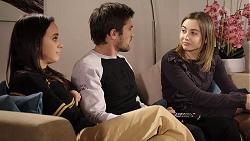Bea Nilsson, Ned Willis, Piper Willis in Neighbours Episode 7957