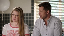 Chloe Brennan, Mark Brennan in Neighbours Episode 7957