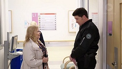 Sheila Canning, Constable Andrew Rodwell in Neighbours Episode 7957