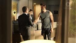 Paul Robinson, Pierce Greyson in Neighbours Episode 7958