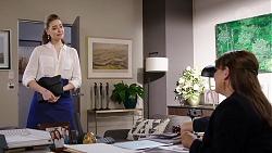 Chloe Brennan, Terese Willis in Neighbours Episode 7958