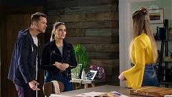 Mark Brennan, Elly Conway, Chloe Brennan in Neighbours Episode 7959
