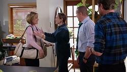 Alice Wells, Sonya Rebecchi, Toadie Rebecchi, Shane Rebecchi in Neighbours Episode 7961