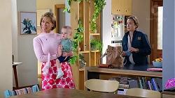 Alice Wells, Hugo Somers, Sonya Rebecchi in Neighbours Episode 7961
